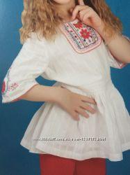 Вышиванка на девочку 7-8 лет, Monsoon