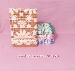 Полотенца банные, для лица, кухонные