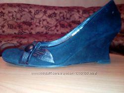 женские замшевые туфли Elegante, 38 размер