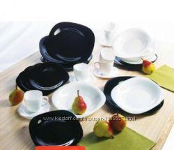 Сервиз, столовый, Luminarc, Carine, Black&White