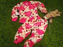 Теплые мимишные пижамы домашние костюмы из махры