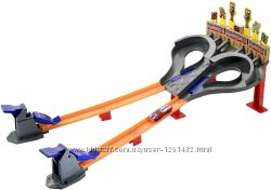 Трек Hot Wheels Super Speed Race Безумные гонки Оригинал