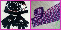 Комплекты шапкашарф, шапка перчатки
