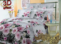 Комплекты постельного белья ткань полисатин плотность 135 грм. кв.