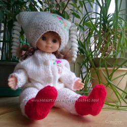 Вязаная одежда для куклы