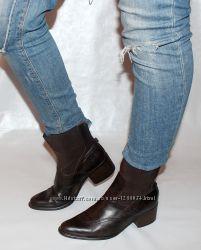Ботинки 39 р. Venturine, Италия кожа, оригинал демисезон.