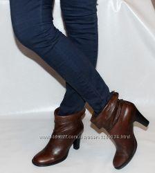 Ботинки 39 р Bronx Нидерланды кожа оригинал демисезон