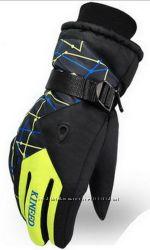 Мужские зимние перчатки KINEED лыжные, горнолыжные, разные цвета