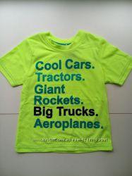 футболка мальчик от 1 до 7 лет George TOM TAILOR TRN