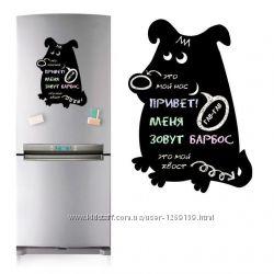 Магнитная доска на холодильник Собака