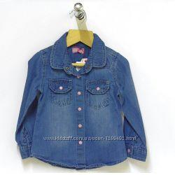 Джинсовая рубашка для девочки Minoti