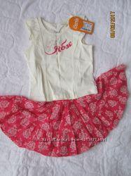Летний костюм для девочки бемби р. 110