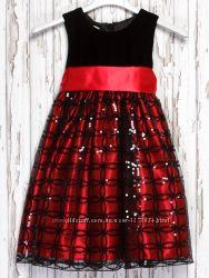 Шикарное нарядное новогоднее праздничное платье на девочку Mikarden London