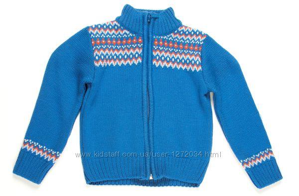 Кофта свитер кардиган полувер джампер батник толстовка на мальчика Бемби