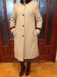 Пальто натур мех размер М