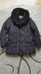 Куртка пуховик зимова жіноча 48 р