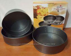 Формы круглые для выпечки торта, бисквита 3 шт