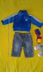 стильный наборчикджинсики и кофта Adidas оригинал