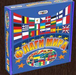 Настольная игра Флаги мира. Бесплатная доставка Укрпочтой