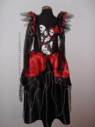 Карнавальные  платья хэллоуин