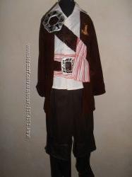 Карнавальный костюм пирата Джека Воробья на 5 -6 лет.