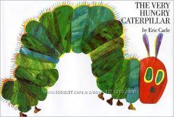 детская книга на английском The Very Hungry Caterpillar