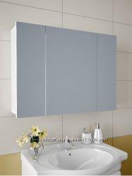 Зеркальный шкафчик в ванную 80х60х12, 5см