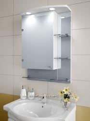 Зеркальный шкафчик в ванную 75х55х12, 5см