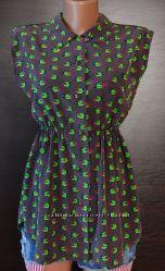 Блузка - рубашка Bleuciel