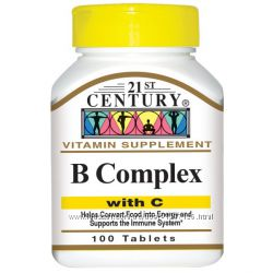 21st Century, Комплекс витаминов B, с витамином C, 100 витаминок