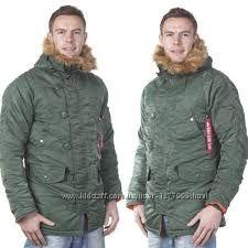 Куртка зимняя мужская Аляска N-3B Parka Альфа индастриз Alpha industries
