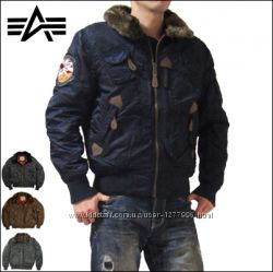 Куртка мужская Injector Альфа Индастриз Инжектор Оригинал Alpha industries