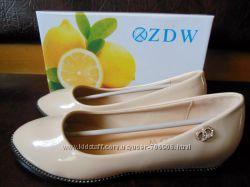 Туфли фирмы ZDW 38 раз.