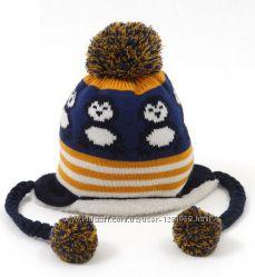 Теплые зимние шапочки Пингвинчики