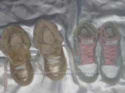 Кроссовки, кеды высокие  NEXT по стелечке 17 см и 19 см