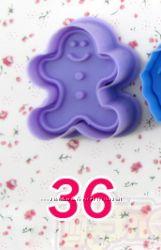 Формочки пластикове для выпечки печенья, 3D печенье