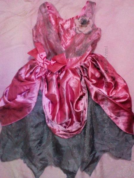 Карнавальное новогоднее платье  Принцессы на 3-4года