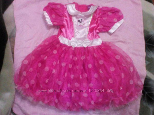 Карнавальное новогоднее платье Мини Disney  на 3-5лет