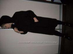 Пальто с капюшоном бу