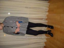 Новое полупальто с прорезанными рукавами копия Chanel