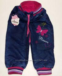 Утепленные джинсы на махре и с манжетами на 1, 5-6 лет Турция