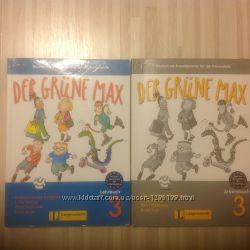 Langenscheidt Der Grune Max 1, 2, 3 Lehrbuch, немецкий язык