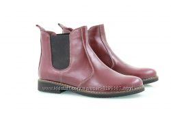 Женские кожаные ботинки-честеры