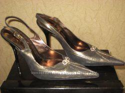 Новые кожаные туфли-босоножки Giorgio Morale 38р