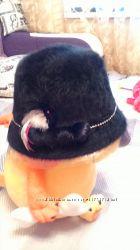 шапка с ангоры