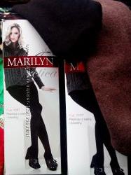Теплые шерстяные колготки Marlin Польша