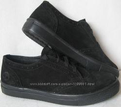 Кеды Timberland oxford женские Кожа натуральная кроссовки туфли обувь