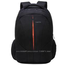 Рюкзак городской tigernu 3105 черный с оранжевым Совместим с ноутбуком15. 6