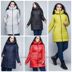 Куртка зимняя большого размера р. 50-58