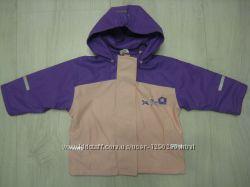 Куртка-дождевик 80-86 рост на флисе Papagino